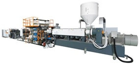 Picture of Sheet Extrusion Line, PP Sheet Extrusion Line, PET Sheet Extrusion Line