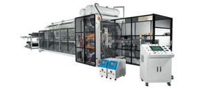 Picture of Two Stations Post Trim Thermoforming Machine / Systems